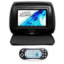 Encosto Cabeça Preto Leitor Dvd USB Com Ziper Tela 7 H-Tech