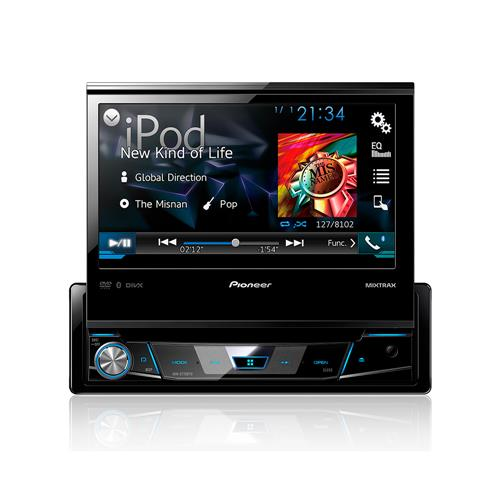 "DVD Player Automotivo Pioneer AVH-X7780TV Tela 7"" com TV Digital USB Entrada Auxiliar Bluetooth"