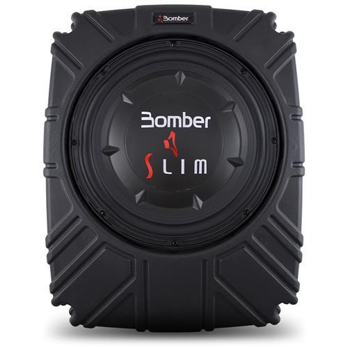 Caixa Amplificada Ativa Bomber Slim Subwoofer 10 Polegadas 175W RMS 4 Ohms