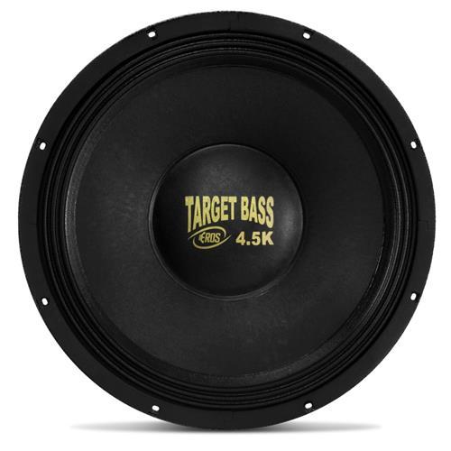 Alto Falante Subwoofer Eros 15 Pol E15 Target Bass 4.5K 2.250W RMS 4 Ohms