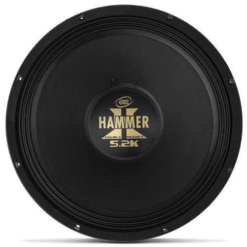 Alto Falante Woofer Eros 15 Pol E15 Hammer 5.2K 2600W RMS 4 Ohms