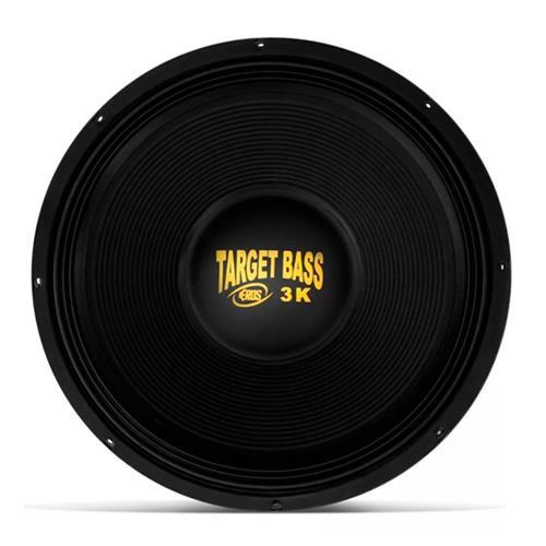 Alto Falante Subwoofer Eros 18 Pol E18 Target Bass 3.0K Galvanizado 1500W RMS 4 Ohms